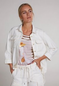Oui - Outdoor jacket - antique white - 3
