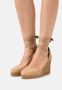 Gaimo - COLIN - High heeled sandals - camello - 0