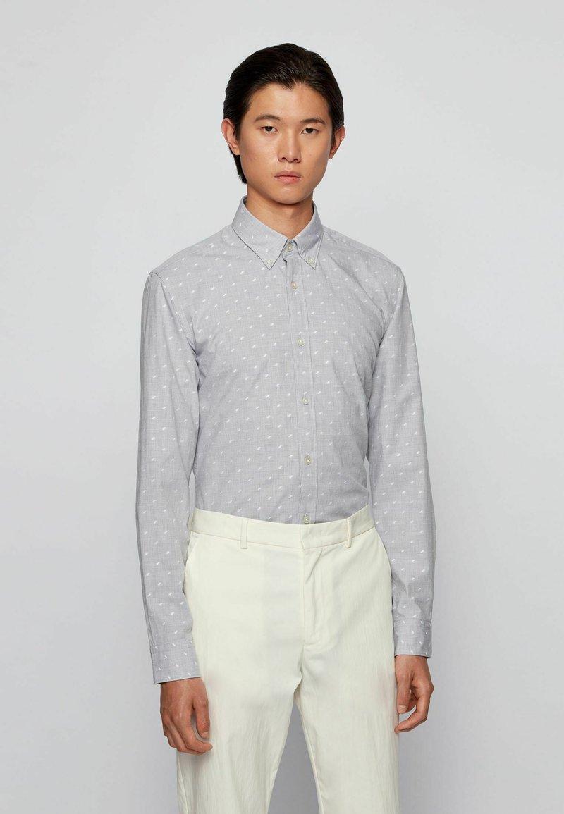 BOSS - Shirt - silver