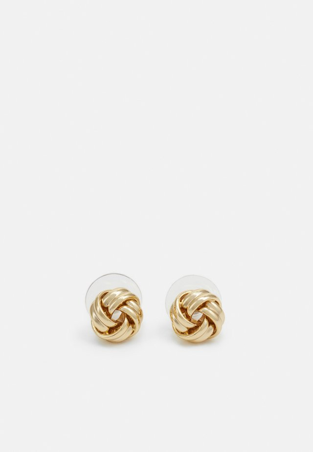 KNOT STUD - Boucles d'oreilles - gold-coloured