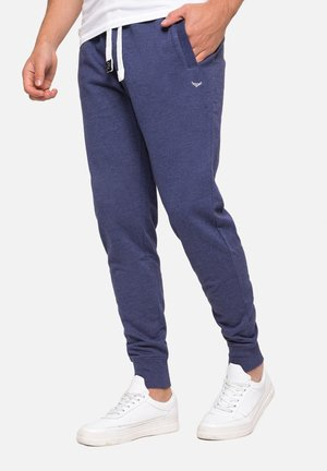 Tracksuit bottoms - navy marl