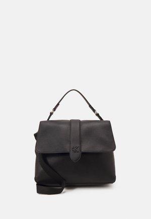 SOFT SATCHEL - Handbag - black