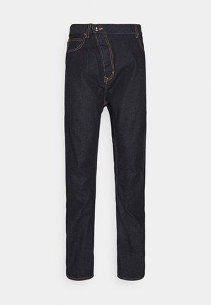 NEW ASYMMETRIC - Jeans a sigaretta - indigo