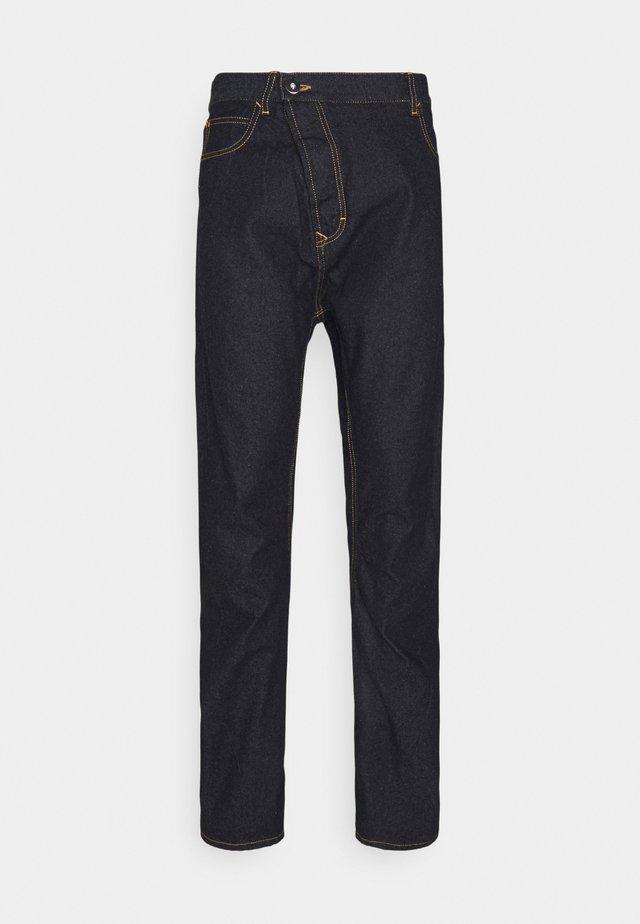 NEW ASYMMETRIC - Jeans straight leg - indigo