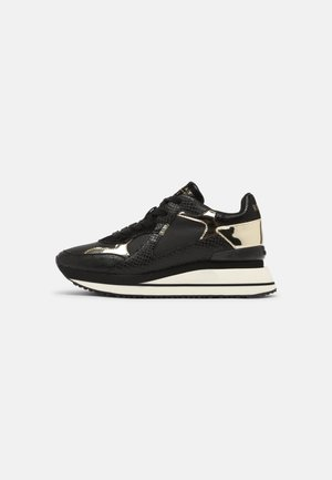 VINEMONT - Sneakers laag - black/platin