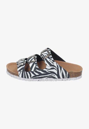 Mules - zebra