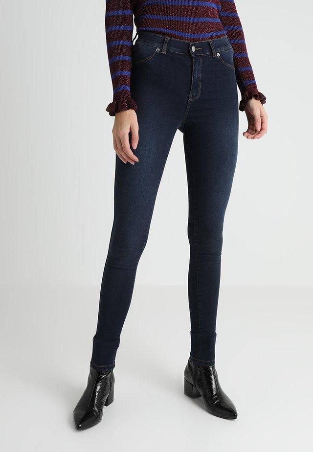 Jeans Skinny Fit - worn dark blue