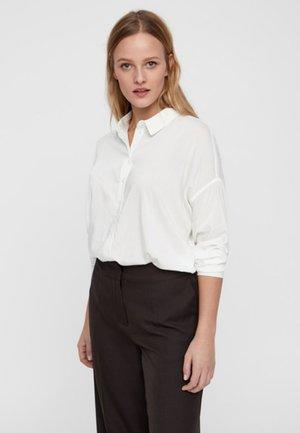 Button-down blouse - snow white