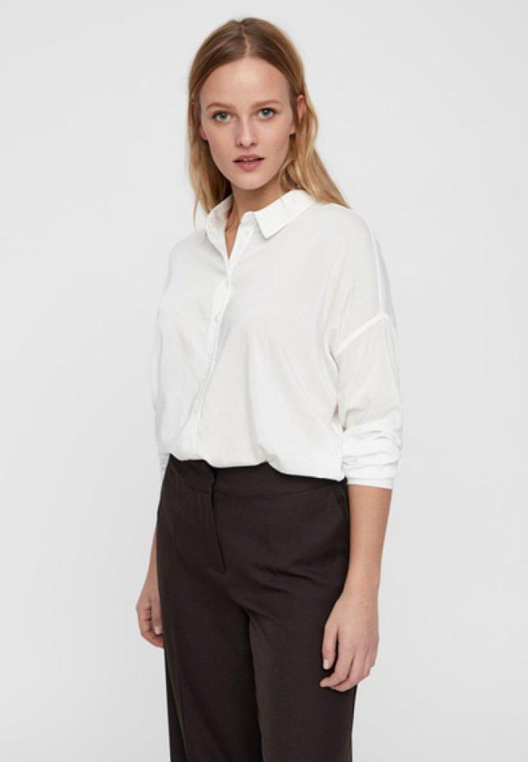 Vero Moda - Button-down blouse - snow white