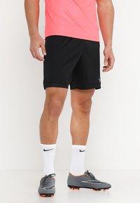 Nike Performance - DRY ACADEMY SHORT  - Korte sportsbukser - black/black/white - 0