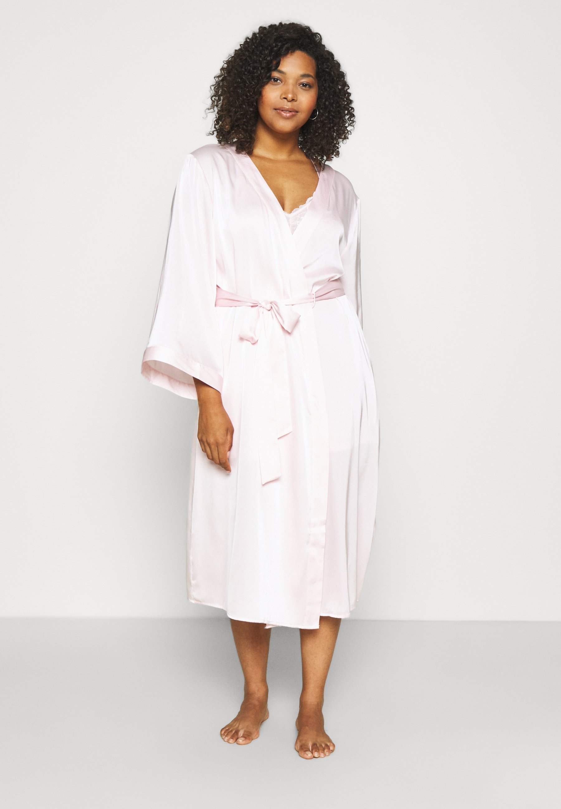 Women SLINKY MIDI ROBE - Dressing gown