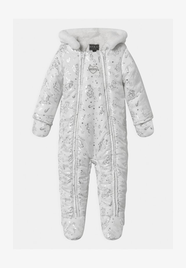 PADDED BABY - Tuta da neve - white