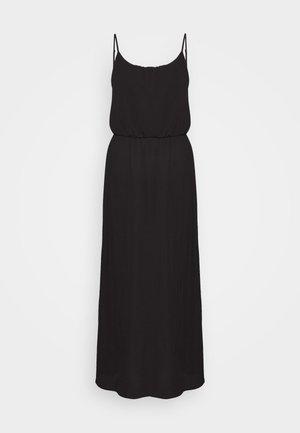 ONLNOVA DRESS SOLID - Maxi-jurk - black