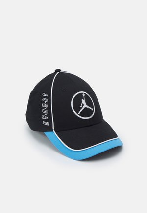 AIR CAP UNISEX - Gorra - black/university blue/volt/white
