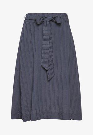 FRIGGASZ - A-line skirt - ombre blue