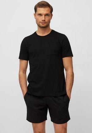 LOUNGESET CREW NECK - Pyjama set - schwarz