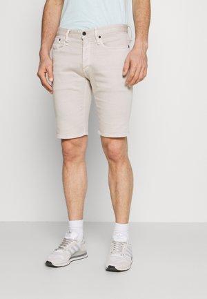 RAZOR  - Denim shorts - silver gray