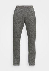 Champion - STRAIGHT HEM PANTS - Verryttelyhousut - grey dark melange - 3