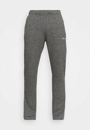 STRAIGHT HEM PANTS - Träningsbyxor - grey dark melange