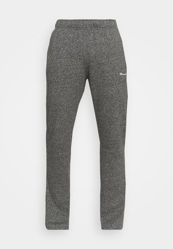 STRAIGHT HEM PANTS - Verryttelyhousut - grey dark melange