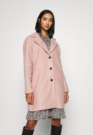 VIOLLY BUTTON COAT - Manteau classique - adobe rose
