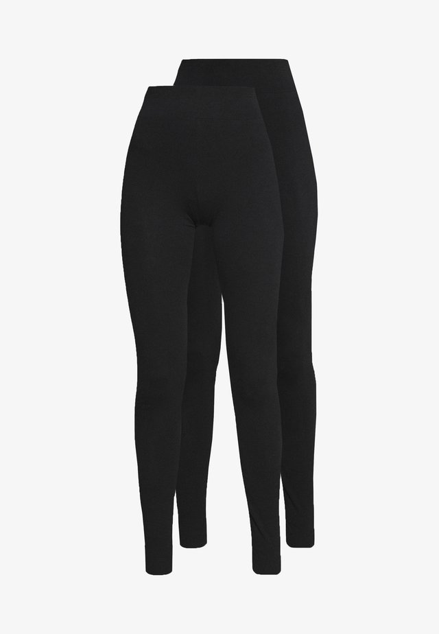 TALL 2 PACK - Legging - black