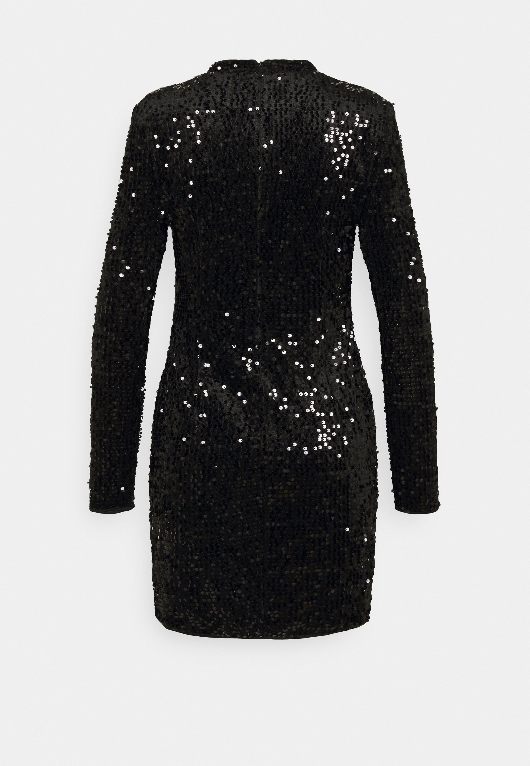 INA SEQUINS DRESS Cocktailkjole black