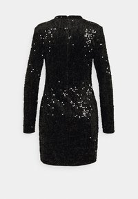 Gina Tricot - INA SEQUINS DRESS - Cocktail dress / Party dress - black - 1