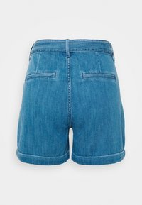 s.Oliver - Denim shorts - blue denim - 1