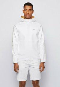 BOSS - Zip-up hoodie - white - 0
