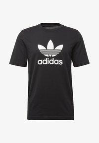 adidas Originals - TREFOIL UNISEX - Print T-shirt - black - 3