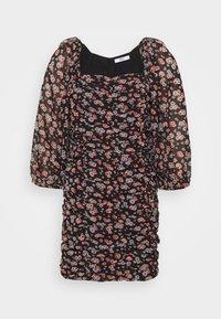 ONLSIMONE SHORT DRESS - Denní šaty - black