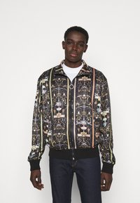 Versace Jeans Couture - TECNO PRINT TUILERIES  - Training jacket - black - 0