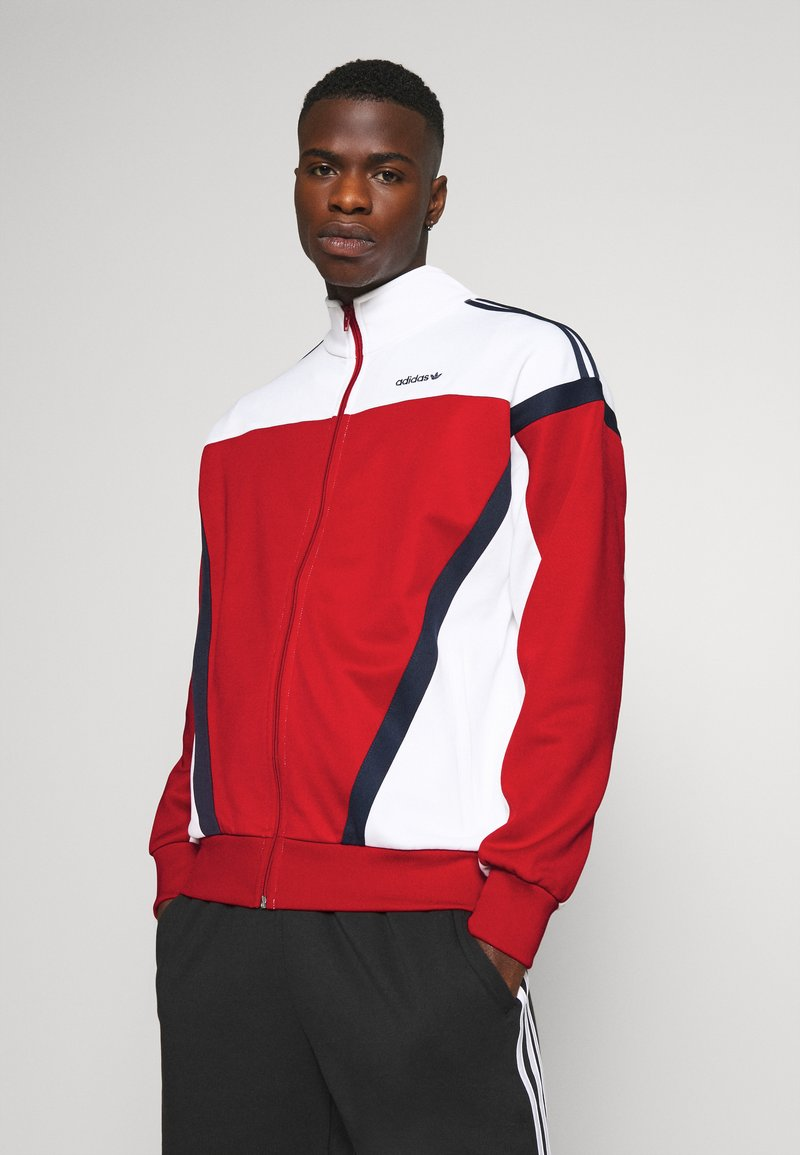adidas Originals - CLASSICS  - Training jacket - scarle/white