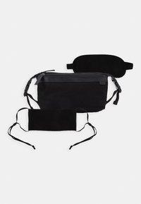 Zign - UNISEX STOFFMASKE - SCHLAFMASKE - Wash bag - black - 0