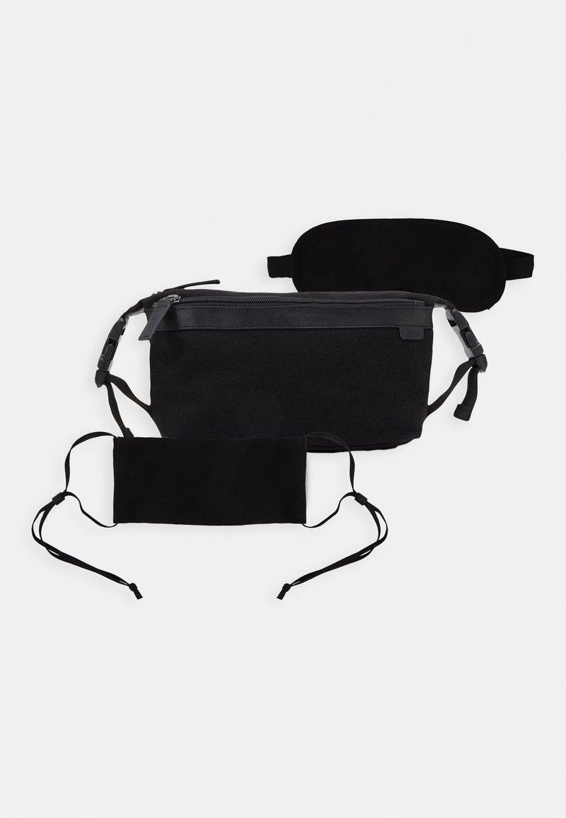 Zign - UNISEX STOFFMASKE - SCHLAFMASKE - Wash bag - black