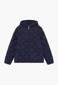 GANT - THE WEIGHT DIAMOND PUFFER - Winter jacket - evening blue - 0