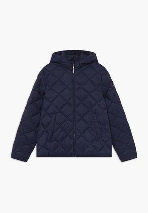 THE WEIGHT DIAMOND PUFFER - Winter jacket - evening blue