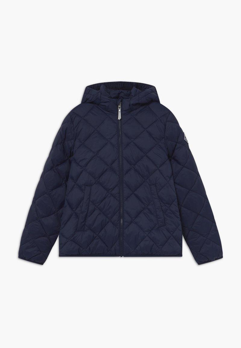 GANT - THE WEIGHT DIAMOND PUFFER - Winter jacket - evening blue