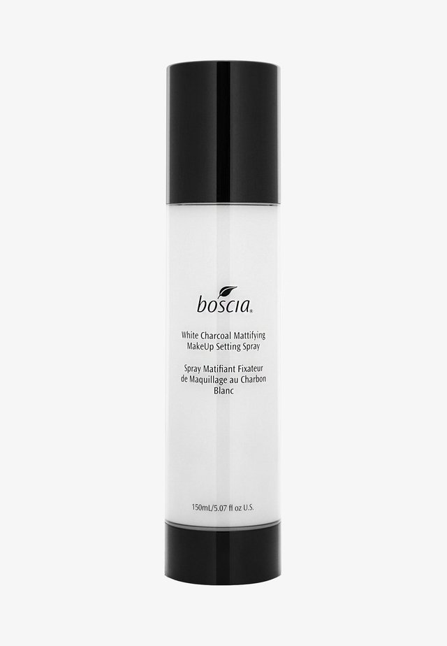 WHITE CHARCOAL MATTIFYING MAKEUP SETTING SPRAY - Fixierspray und Fixierpuder - white