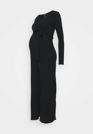WARM HANDLE  WRAP  - Jumpsuit - black