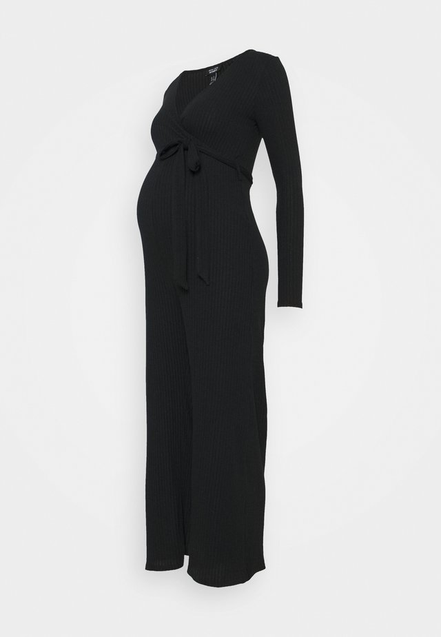 WARM HANDLE 3/4  WRAP  - Jumpsuit - black