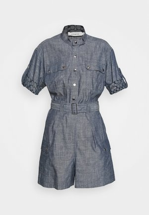 ROMPER CHAMBRAY - Jumpsuit - blue denim