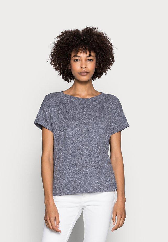 CLOUDY - Camiseta básica - navy