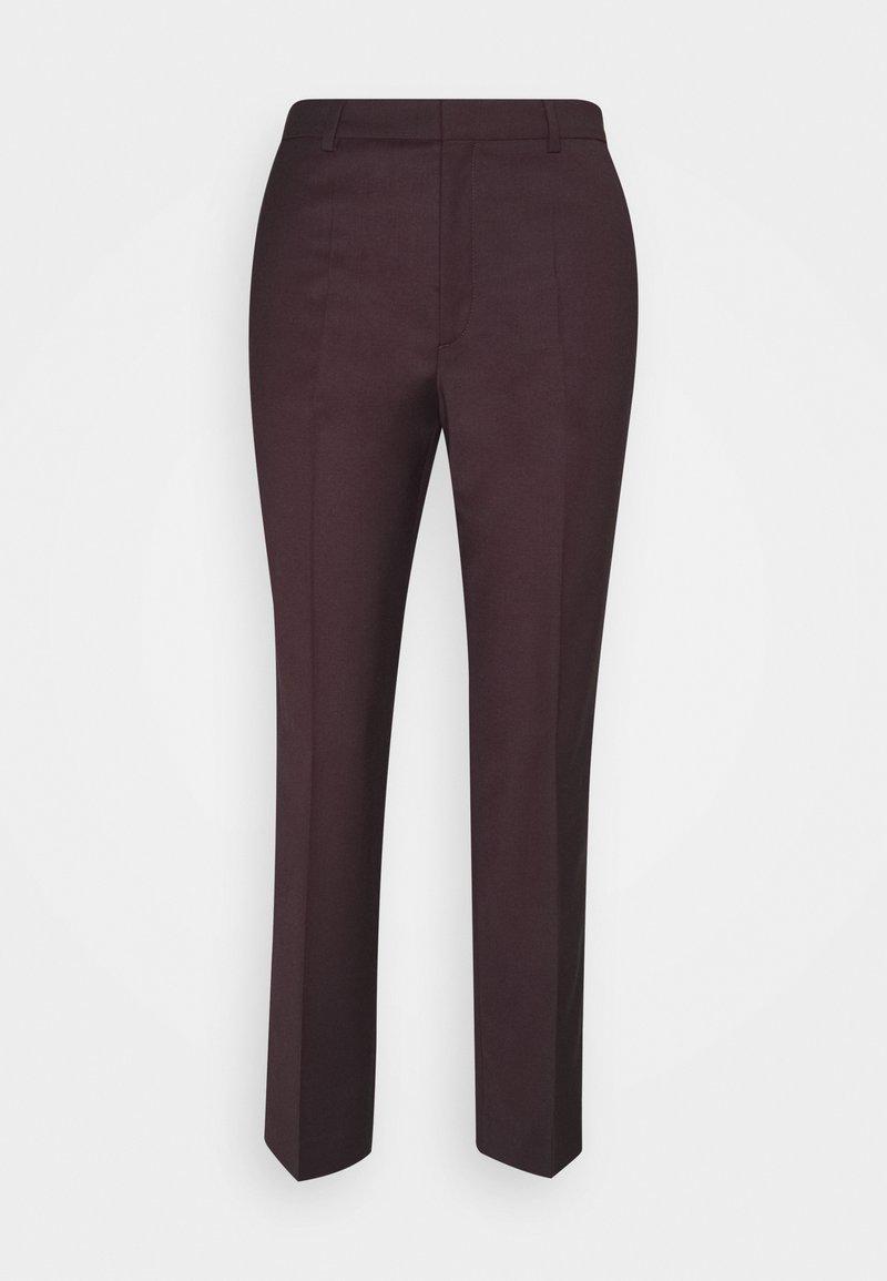 Filippa K - EMMA CROPPED COOL TROUSER - Trousers - maroon