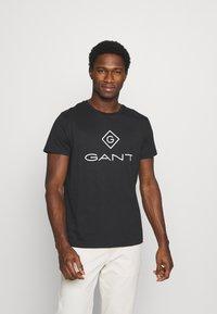GANT - LOCK UP  - Print T-shirt - black - 0