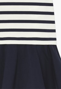 Polo Ralph Lauren - PONTE DRESS - Žerzejové šaty - hunter navy/clubhouse cream - 3