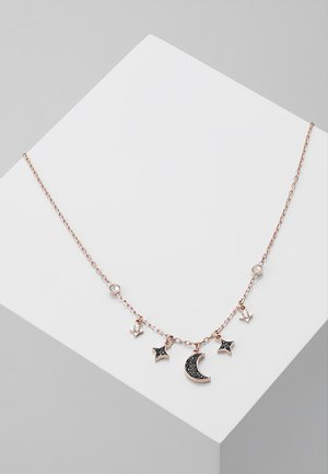 DUO NECKLACE MOON - Halskæder - jet