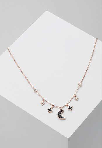 DUO NECKLACE MOON - Necklace - jet