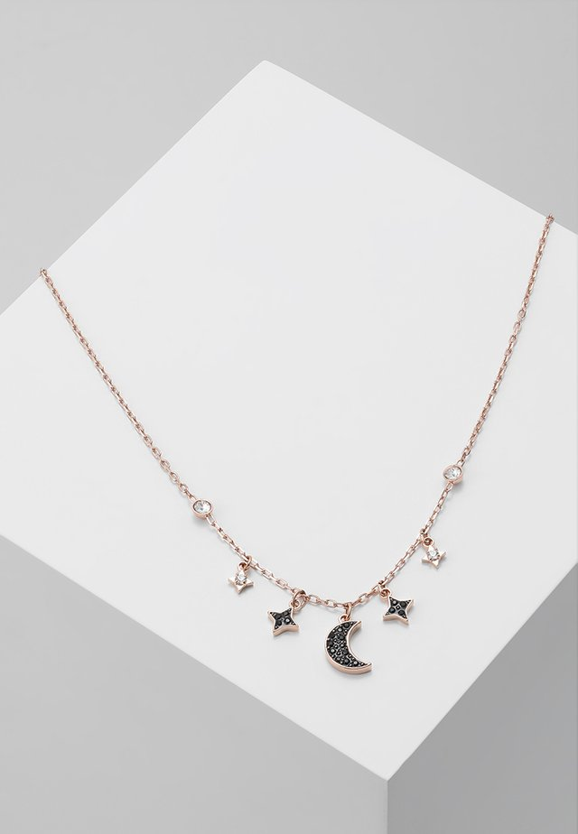 DUO NECKLACE MOON - Naszyjnik - jet